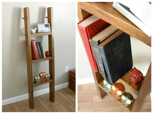 Upcycle a Ladder Into an Unique Bookshelf