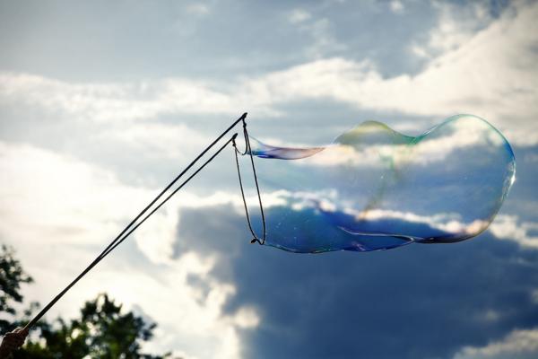 bubble image via Shutterstock
