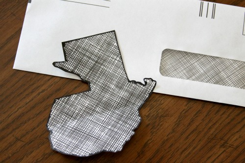 How To: Recycled Map Art
