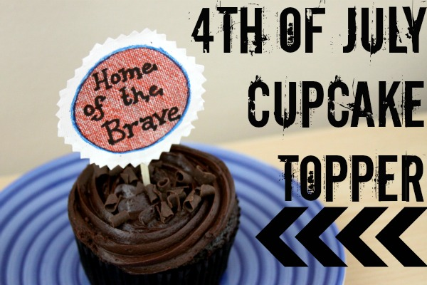 4th of July Party Ideas: Handmade and Eco-Friendly Cupcake Toppers