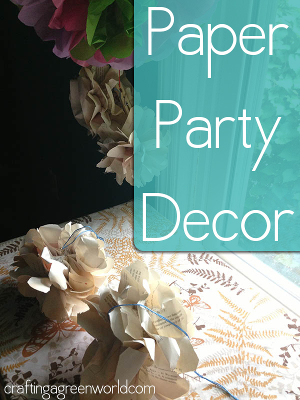 paper party decorations