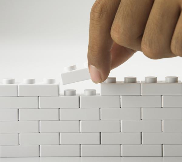 LEGO image via Shutterstock