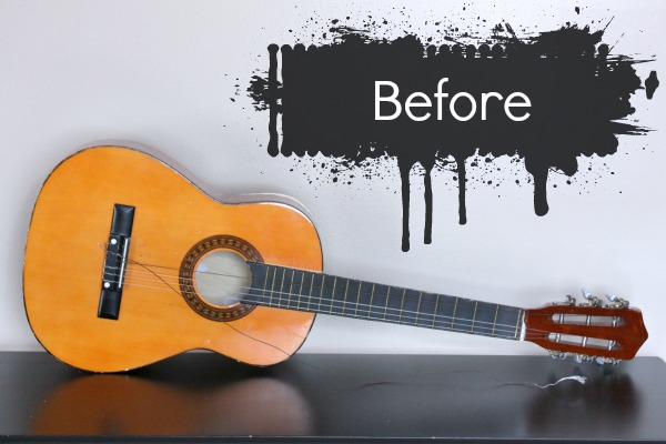How To: Upcycle a Guitar into Art