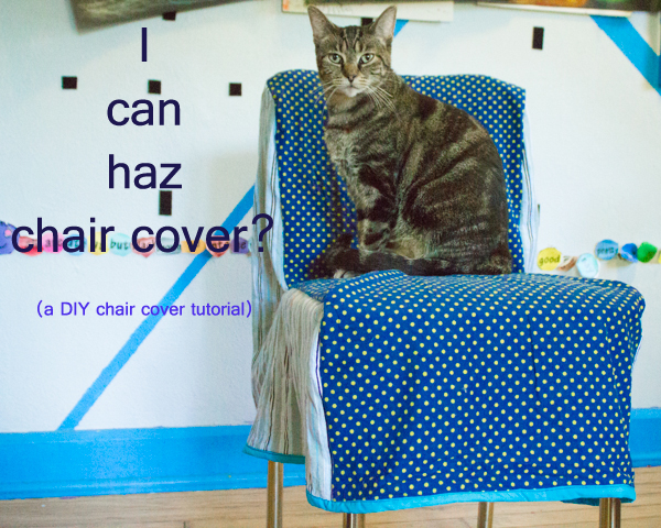 DIY chair cover tutorial (5 of 5)