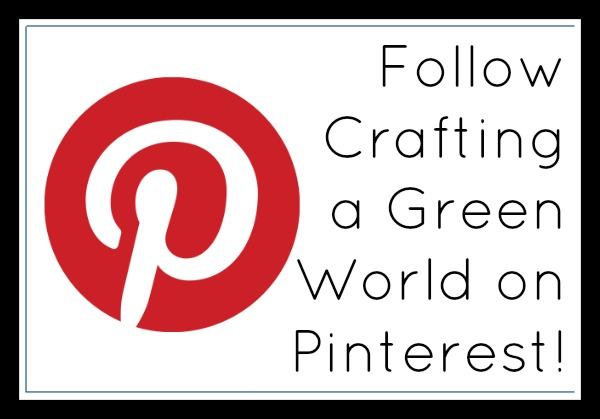 Ending the Green Crafts Showcase, but Starting a New Pinterest Account!