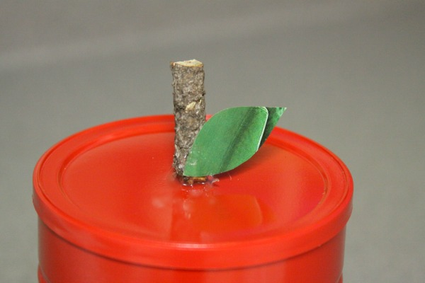 An Upcycled Apple Canister