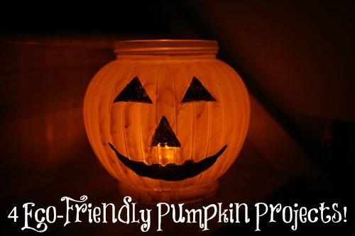 Fall Crafts: 4 Eco-Friendly Pumpkin Projects