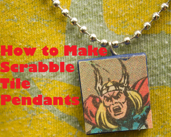 Tutorial how to make scrabble tile pendants crafting a green world scrabble tile pendants tutorial 1 of 1 aloadofball Image collections