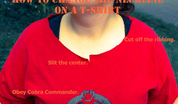 Ways to Refashion a T-shirt