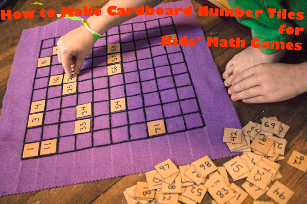 cardboard number tiles tutorial (1 of 1)