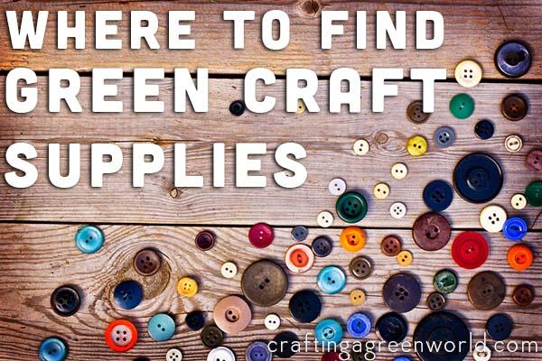 green craft supplies