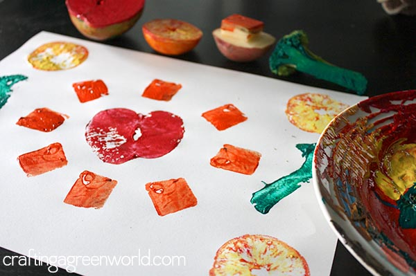 Crafts For Kids Fruit Vegetable Stamping
