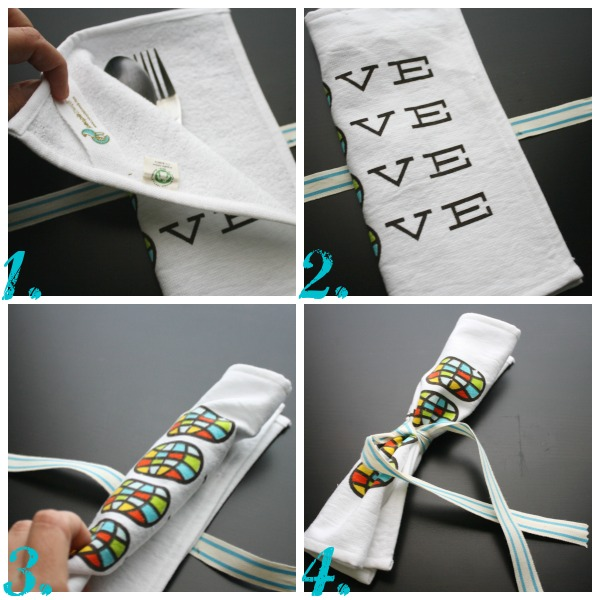How to Fold Your Utensil Wrap