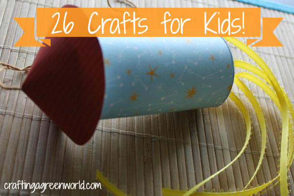 Natural Or Upcycled Crafts for Kids
