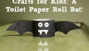 Make a Toilet paper Roll Bat