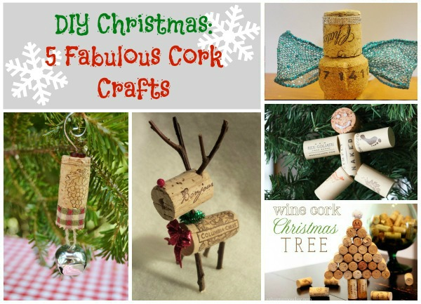 DIY Christmas: Fabulous Cork Crafts