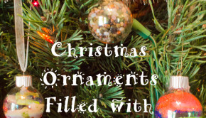 DIY Christmas Ornaments from Your Recycle Bin