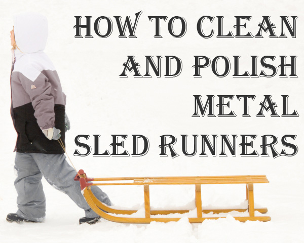 how to clean and polish metal sled runners (1 of 1)