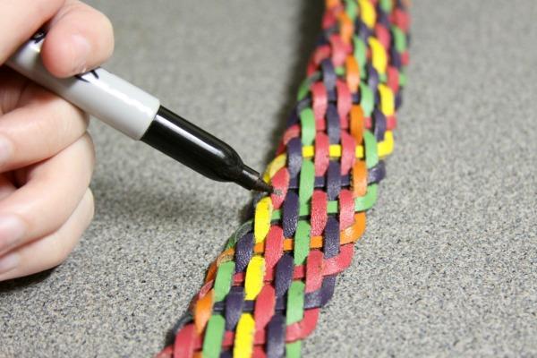 DIY Fashion: Make Your Own Belt Bracelet