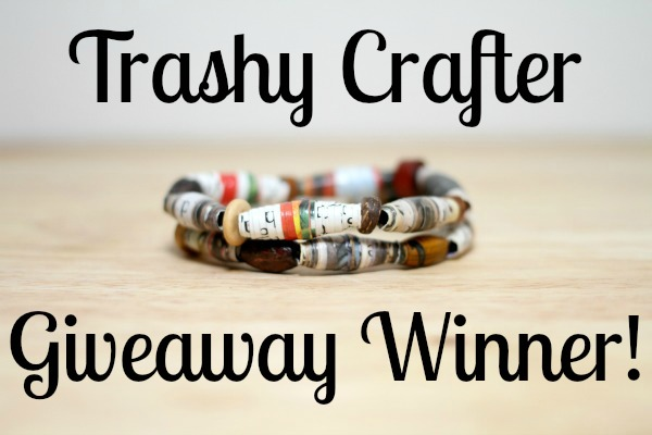 Trashy Crafter Giveaway Winner!