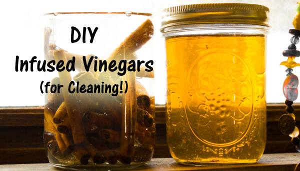 Make Infused Vinegar for Cleaning