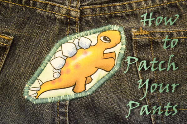 how to patch jeans (3 of 3)