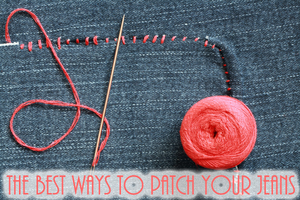 jeans patched with embroidery thread photo via Shutterstock (1 of 1)