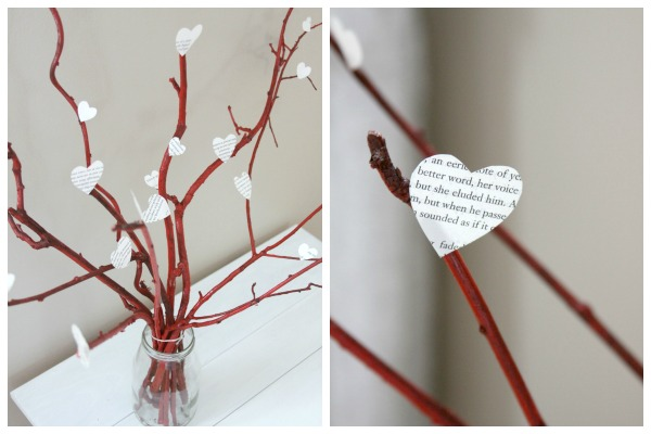 Valentine's Day Crafts: A Beautiful Recycled Centerpiece!