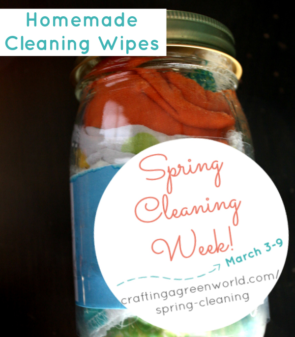 Homemade Cleaning Wipes