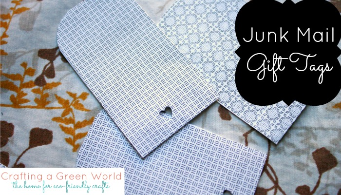 9 DIY Gift Wrapping Ideas: Junk Mail Gift Tags