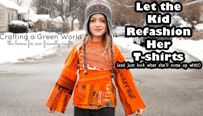 Kid-Refashioned T-Shirts