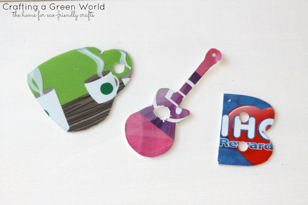 DIY Crafts: Recycle Gift Cards into Unique Keychains