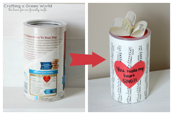 Fun Crafts for Kids: 24 Ways to Reuse an Oatmeal Container
