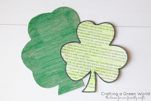 St. Patrick's Day Crafts: DIY Embroidery Hoop Wreath