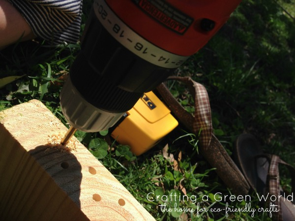 Build a Honey Bee Habitat from Scrap Wood