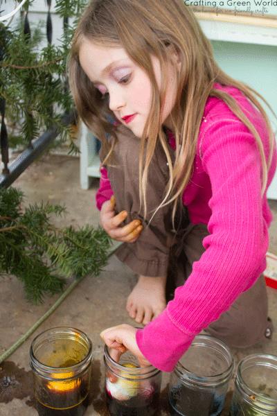 Earth Paint Natural Egg Dye