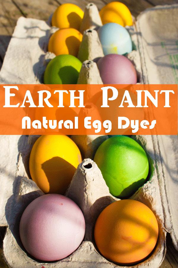 Earth Paint Natural Egg Dye