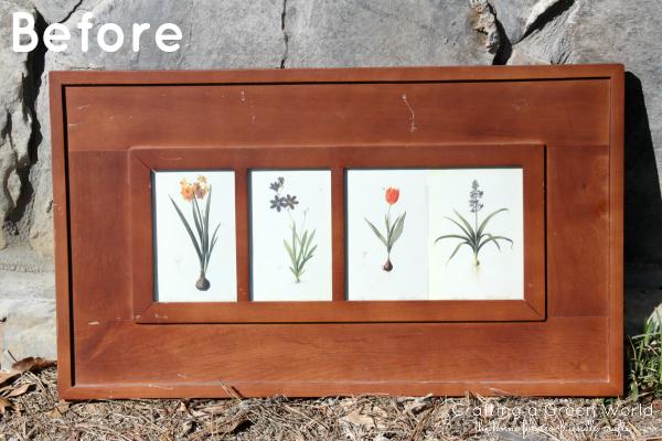 DIY Decor: Make a Chalkboard Picture Frame