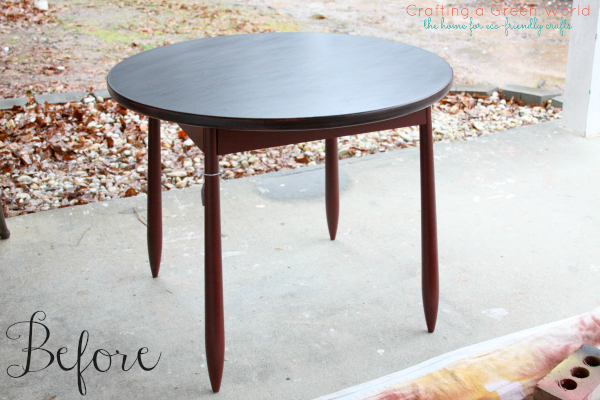 DIY Furniture Projects: Turn a Boring Table into a Chalkboard Table!