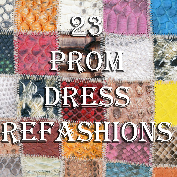23 Prom Dress Refashions