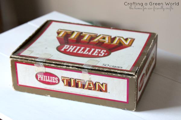 DIY Storage Ideas: Turn an Old Cigar Box into a Keepsake Box