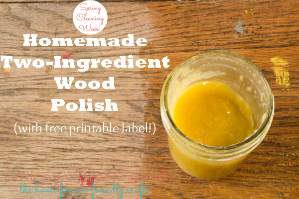 Homemade Wood Polish With Only Two Ingredients
