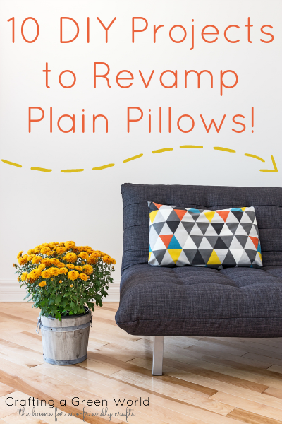10 DIY Projects to Revamp Plain Pillows!