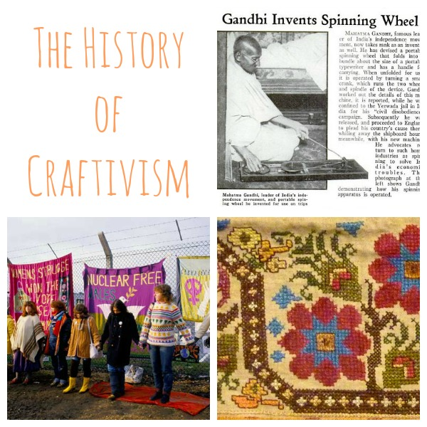 48 Weeks of Historical Craftivism