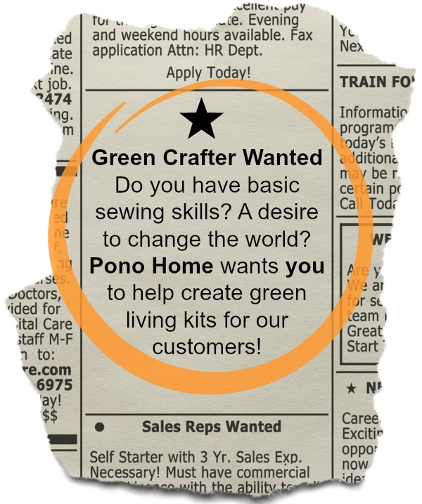 Green Crafter Wanted