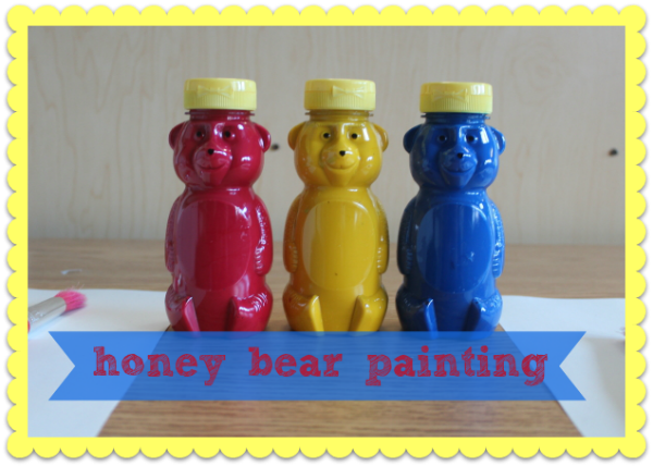 Honey Bear Painting