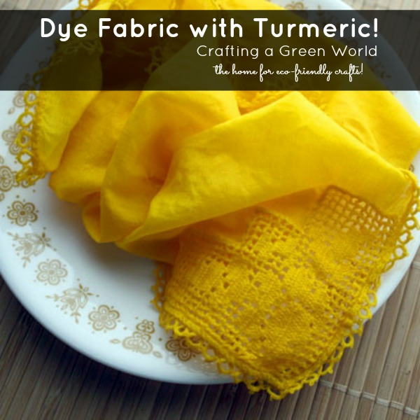 How to Make Turmeric Dye for Fabric