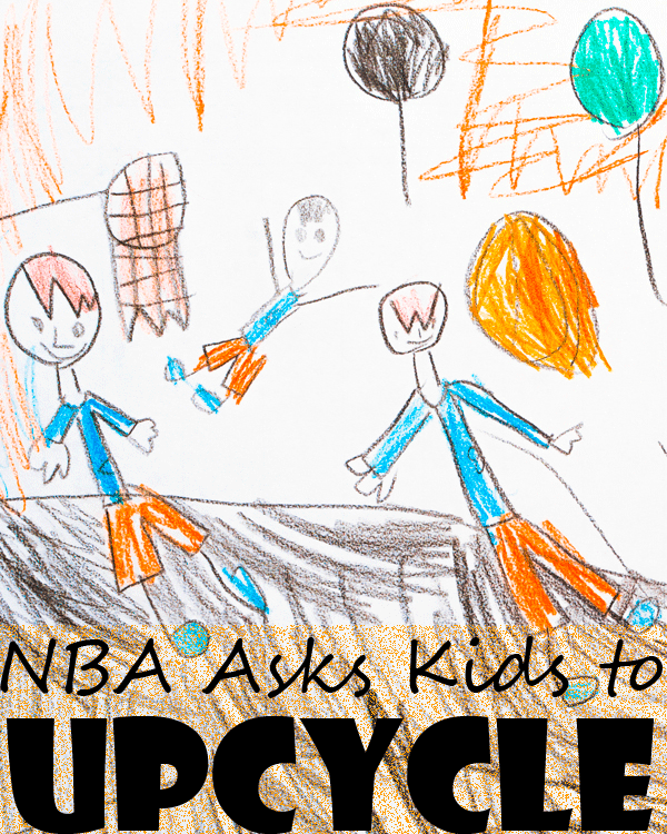 NBA Asks Kids to Upcycle