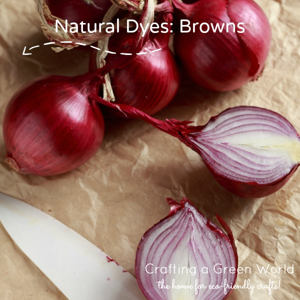 Natural Dyes: Browns
