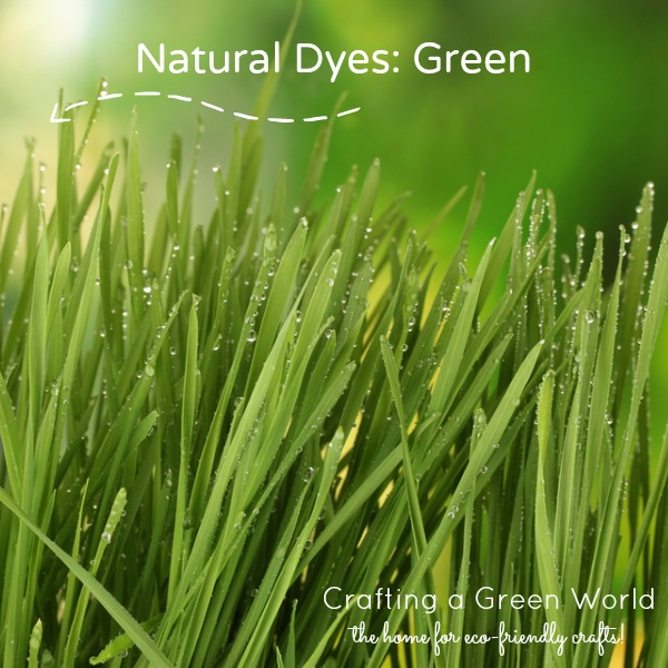 Natural Dyes: Green